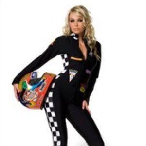 Sexy women's Race Car Driver Halloween Costume